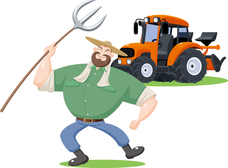 Farmers and tractors Farmers Producers