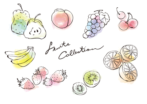 Fruit / watercolor breeze