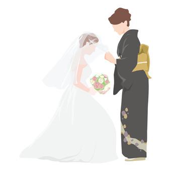 結婚式_ベールダウン