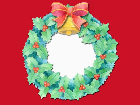 Christmas wreath ★ 0285-X