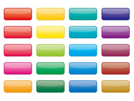 Square square button set