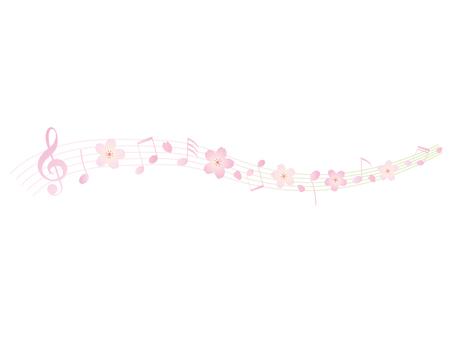 Sakura Music Frame 1
