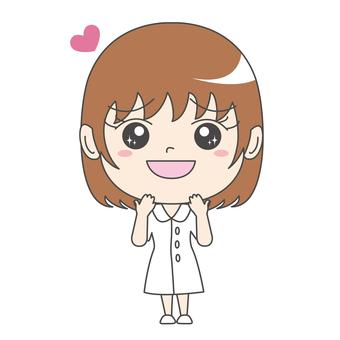 Nurse A: Front: Chest Kyun: Palpitation