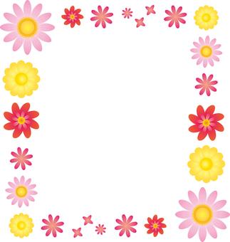 Flower 05 - frame square 01