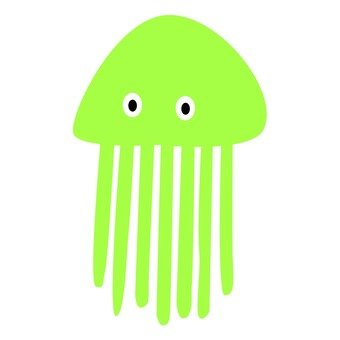 Jellyfish (green)