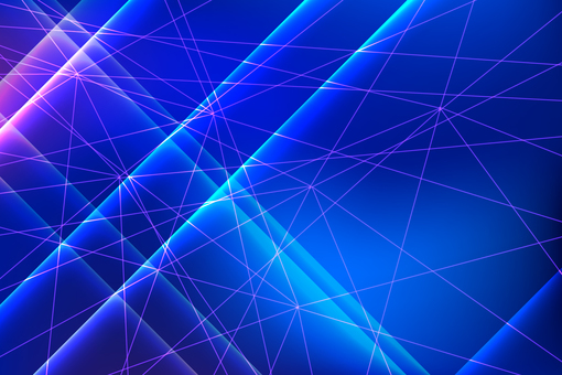 Blue purple linear cross pattern abstract background material