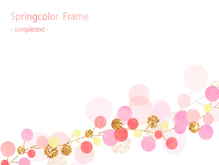 Spring color frame ver 02