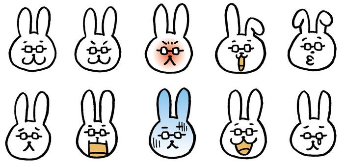Usagi老師只有臉