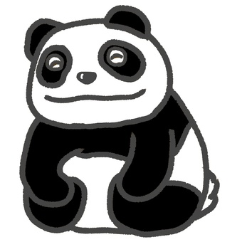 Panda's smile