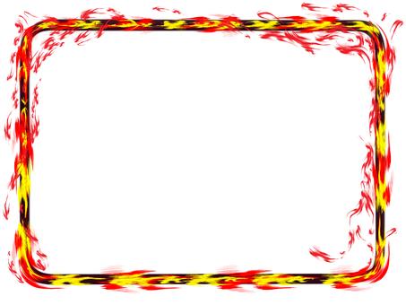 燃燒的框架