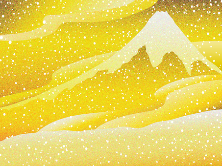 Goldfoil wind Deep snow Fuji 2