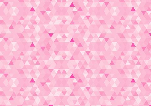 Geometric pattern pink