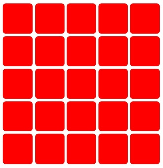 Red square tile