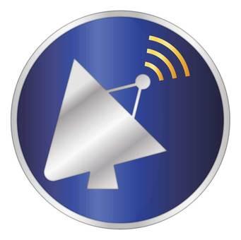 金屬調諧無線電圖標