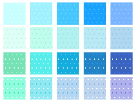 Dot Pattern Blue 05
