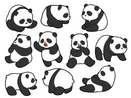 10 kinds of pandas
