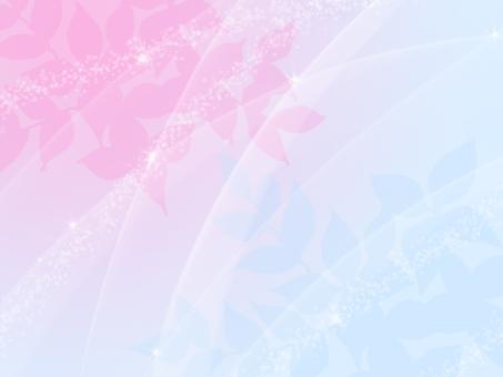 Frame pink light blue