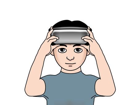 VR goggles (14) boys