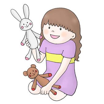 Girl (doll play)