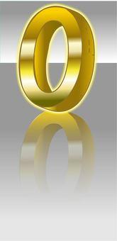 Numbers Logo zero