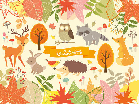 Autumn Forest illustration collection (6)