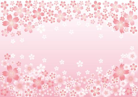 Cherry tree decoration _ frame