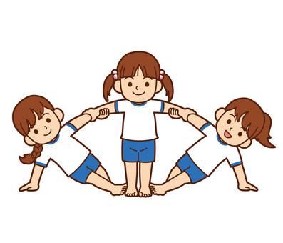체육 대회 및 그룹 체조