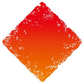 Stamp angle _ red gradation _ cs