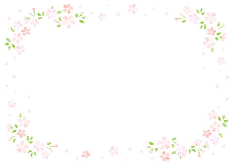 벚꽃 프레임 13