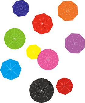 Umbrella flower