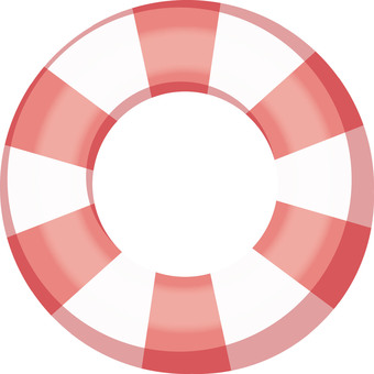 浮輪(紅色)