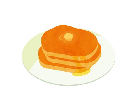Hot cake pancake