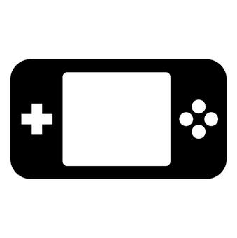게임 휴대용 게임기 아이콘