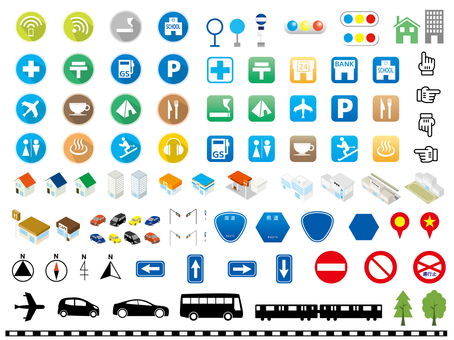 Map icon set 05