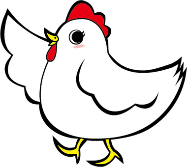 A chicken