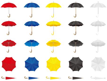 우산 다양한