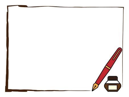 Fountain Pen Frame