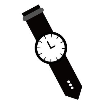 아날로그 시계의 이미지