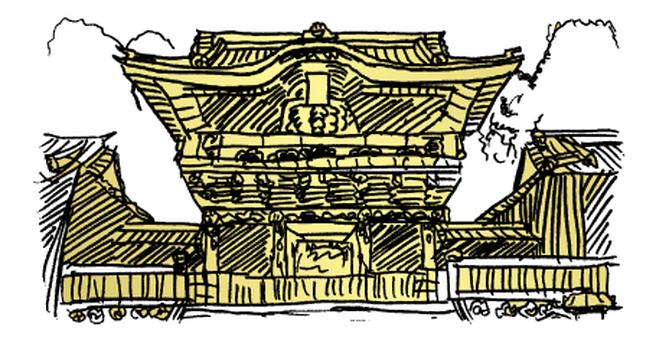 Nikko Toshogu Shrine - Yellow