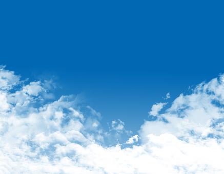 Free illustration Free material Beautiful beautiful blue sky wallpaper