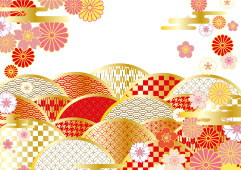 2019 Japan pattern Japanese pattern frame 14