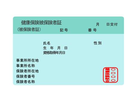 Health insurance card holder