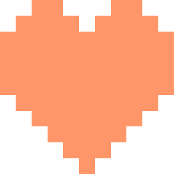 Heart _ pixel _ 01 _ red