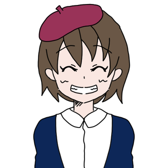 Beret Cap Girl (Super Smile)