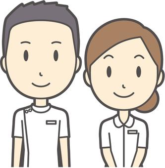 男女セット看護師-029-バスト
