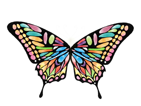 Lamp butterfly