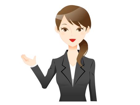 A suit woman 01