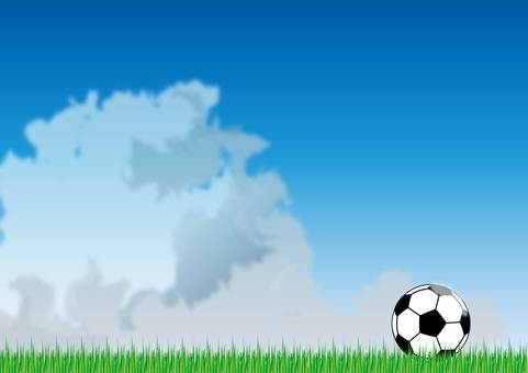 Tunnel cloud and soccer ball