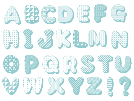ABC ... Alphabet (Blue)