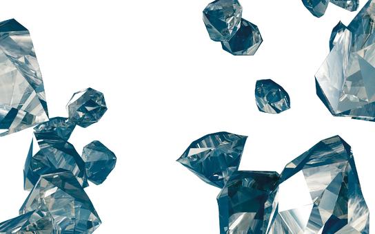 Diamond dispersion 2 (background transmission)